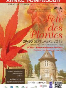 Fête des plantes 2018 à Arnac-Pompadour (19) @ Hars national de Pompadour